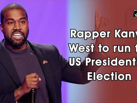 Rapper Kanye West to run for US Presidential Election