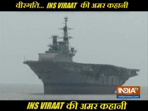 An emotional tribute to INS Viraat