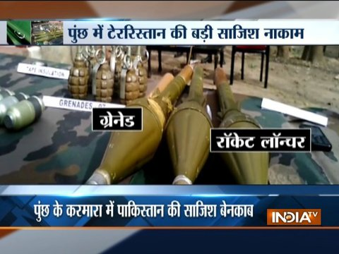 Security forces shot down BAT militant in Poonch, large cache of arms & ammunition seized