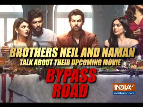 Neil and Naman Nitin Mukesh talk about upcoming film Bypass Road