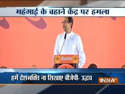 Who needs a bullet train, improve infrastructure first: Shiv Sena