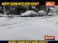 Heavy snow hits New Jersey
