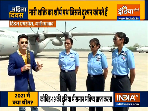 India TV salute Army women on International Women's Day
