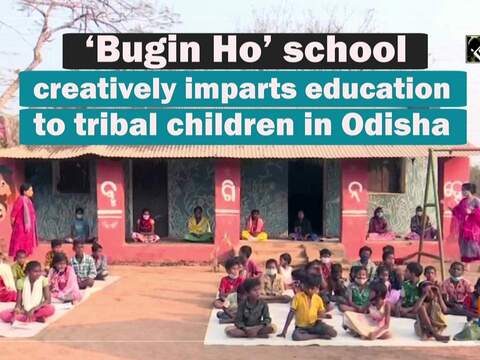 'Bugin Ho' school creatively imparts education to tribal children in Odisha