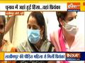 Priyanka Gandhi meets SP worker in Lakhimpur Kheri, says 'Is this democracy?'