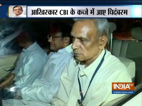 पूर्व गृह मंत्री पी चिदंबरम को CBI ने गिरफ्तार किया, INX मीडिया केस में होगी पूछताछ