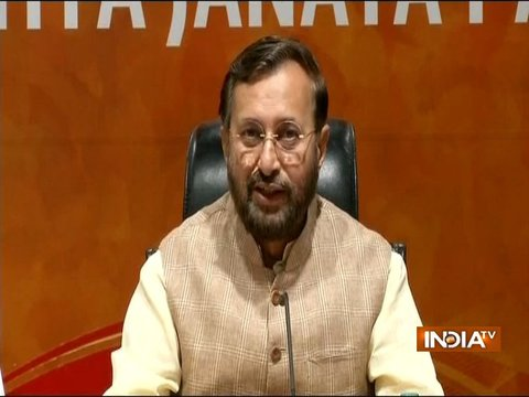 Kathua case: Prakash Javadekar slams Rahul for not taking action against Congress state chief
