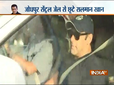 Blackbuck case: Salman Khan granted bail, actor may soon get released