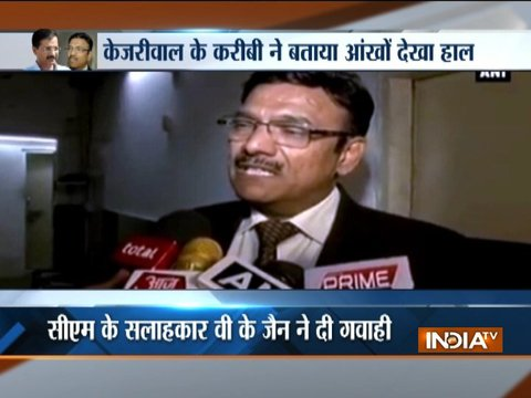 Delhi Chief Secy assault case: VK Jain says he saw AAP MLAs beat Anshu Prakash