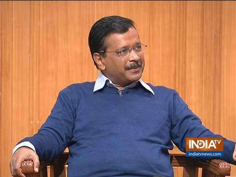 Kejriwal in Aap Ki Adalat: BJP is making false promises on housing