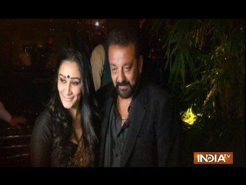 Sanjay Dutt hosts Diwali bash for tinseltown friends