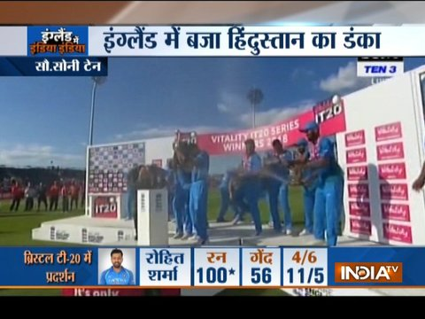 3rd T20I: India beat England by 7 wickets