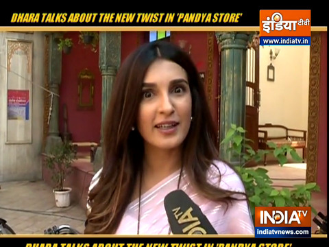 Dhara talks about the new twists in show 'Pandya Store'