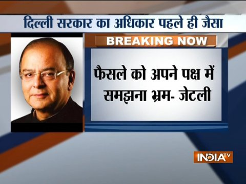 Centre-AAP Power Tussle: Union Minister Arun Jaitley hits-out at Delhi govt through his blog