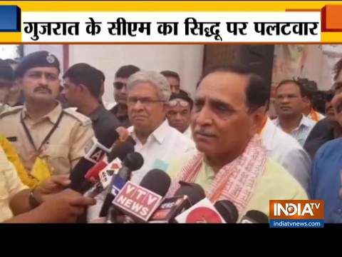 Gujarat CM Vijay Rupani terms Navjot Singh Sidhu Pak agent
