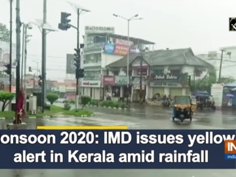Monsoon 2020: IMD issues yellow alert in Kerala amid rainfall