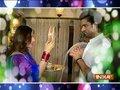 Mohit and Aditi's karwa chauth celebration