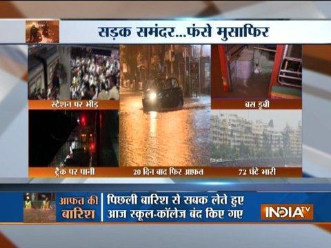 Mumbai Rains: Heavy downpour lashes city