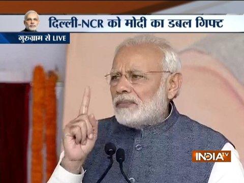 प्रधानमंत्री ने किया वेस्टर्न पेरिफेरल एक्सप्रेस-वे का उदघाटन, पूरा हुआ दिल्ली के बाहर एक और रिंगरोड
