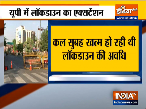 Lockdown extended in Uttar Pradesh extended till May 17