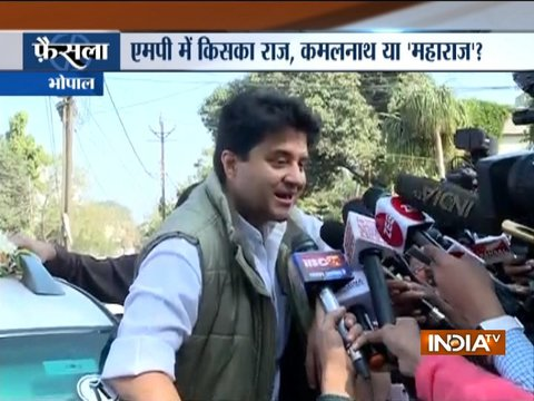 Madhya Pradesh: Shivraj Singh resigns; Jyotiraditya Scindia visits Kamal Nath after meeting 30 MLAs