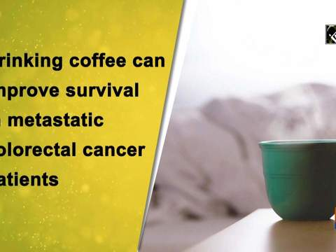 Drinking coffee can improve survival in metastatic colorectal cancer patients