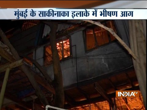 Major fire at factory and its warehouse in Mumbai