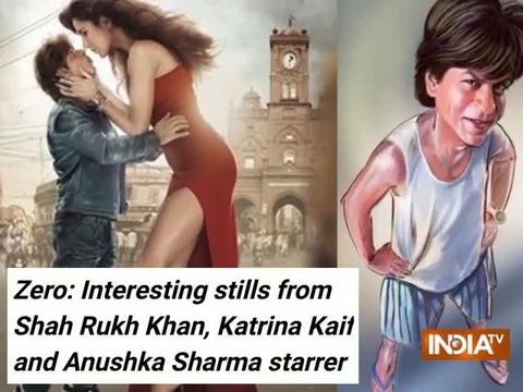 Zero: Interesting stills from Shah Rukh Khan, Katrina Kaif and Anushka Sharma starrer
