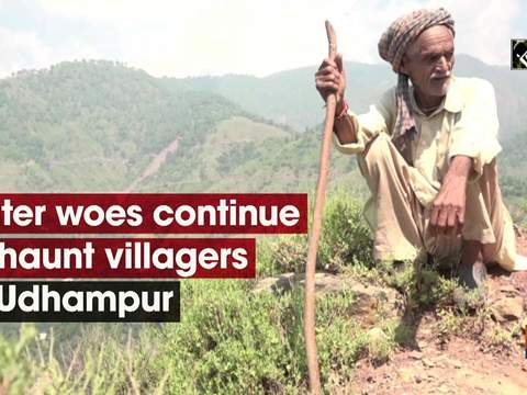 Water woes continue to haunt villagers in Udhampur