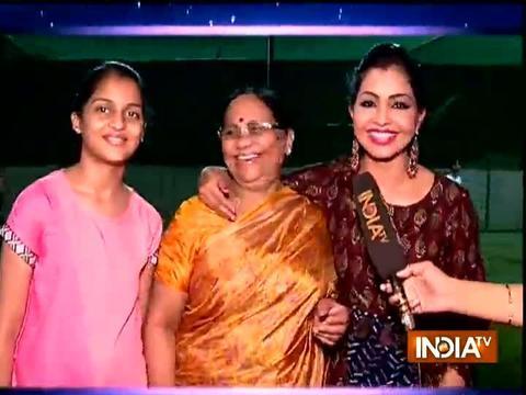 SBAS team surprises Shubhangi Atre at her home