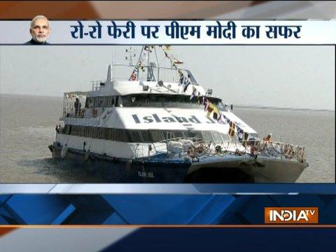 PM Modi to launch India's first 'Ro-Ro' ferry services between Ghogha-Dahej