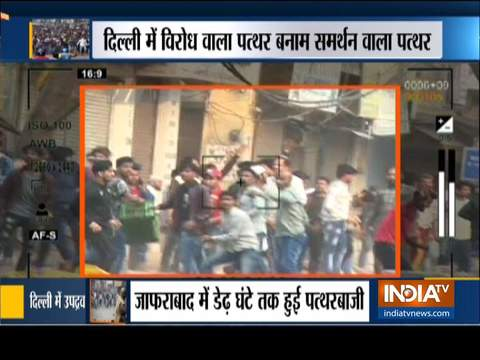 CAA supporters, protesters clash in Northeast Delhi, several injured