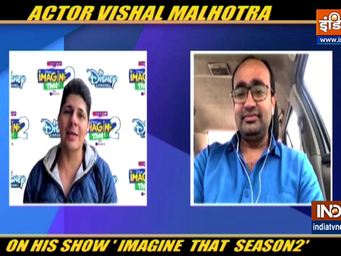 Actor Vishal Malhotra returns to Disney Channel to host the second season of 'Imagine That 2'