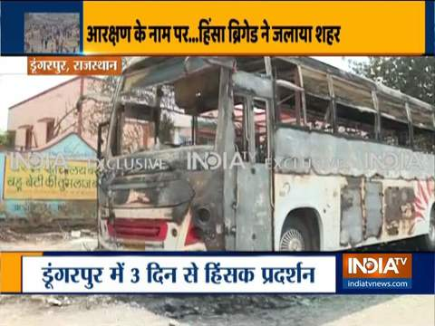 Dungarpur Violence: 3 dead, property vandalised, several vehicles torched; CM appeals for peace