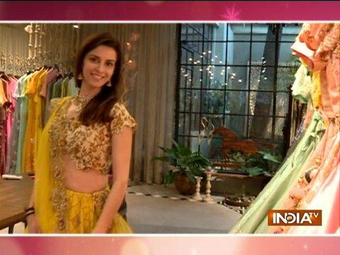 TV actress Ekta Kaul shops for her wedding attire with SBAS