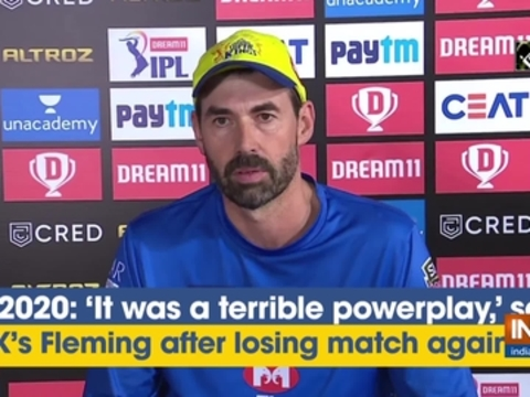 IPL 2020: 'It was a terrible powerplay,' says CSK's Fleming after losing match against MI