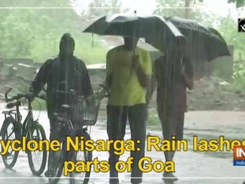 Cyclone Nisarga: Rain lashes parts of Goa