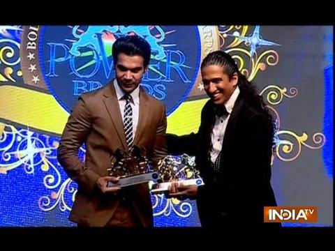 Vidya Balan, Rajkumar Rao honoured with Power Brand Award