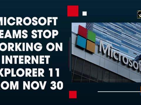 Microsoft Teams stop working on Internet Explorer 11 from Nov 30