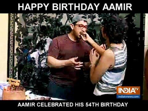 आमिर खान ने मीडिया के साथ अपना 54वां बर्थडे किया सेलिब्रेट