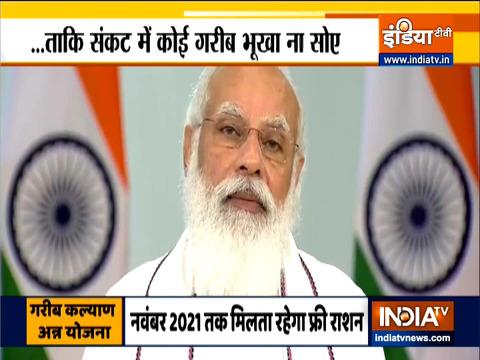 प्रधानमंत्री मोदी ने गुजरात में PMGKAY के लाभार्थियों से की बात, कहा- आज दुनियाभर में इस योजना की प्रशंसा हो रही है