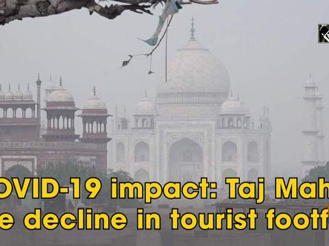 COVID-19 impact: Taj Mahal see decline in tourist footfall