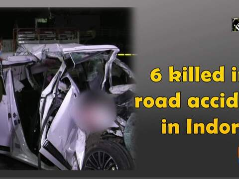 6 killed in road accident in Indore