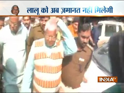 Fodder scam verdict: Lalu Yadav, Jagannath Mishra sentenced to 5 years in jail