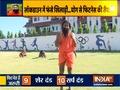 Ustrasana helps in treating slipped disc, suggests Swami Ramdev