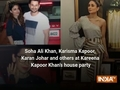 Soha Ali Khan, Karisma Kapoor, Karan Johar and others at Kareena Kapoor Khan's house party