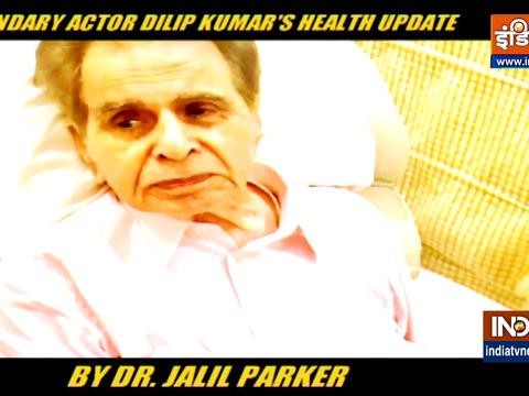 Dilip Kumar undergoes pleural aspiration: 350 ml fluid removed from left lung