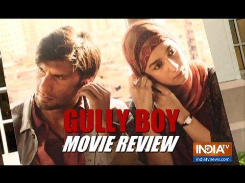 Gully Boy Movie Review: फिल्म देखने से पहले ज़रुर देखें ये वीडियो
