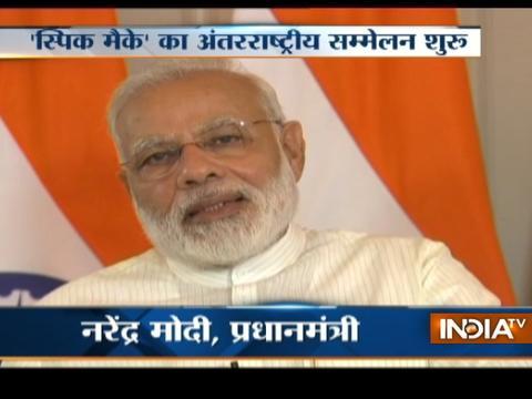 PM Narendra Modi inaugurates SPIC MACAY conference at IIT-Delhi