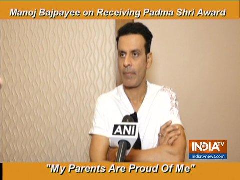 मनोज वायपेयी ने अपने पद्म श्री जीतने पर की बातचीत, कहा- मेरे माता-पिता को मुझ पर गर्व है